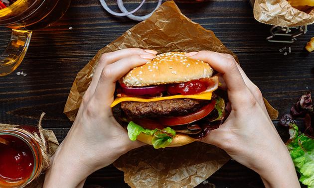 Deluxe Burger Hamme