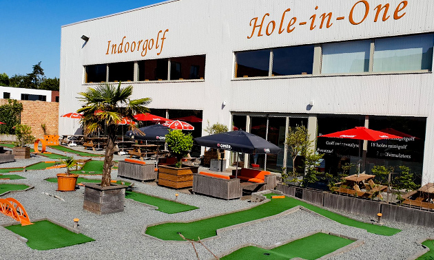 Indoorgolf Hole-In-One