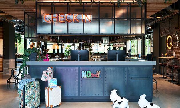 Moxy Amsterdam Schiphol Airport