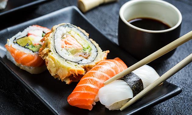 New Sushi Palace, 3-gangen sushidiner bij New Sushi Palace ...