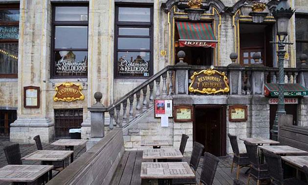 Moules,frites + boisson en plein cœur de Bruxelles