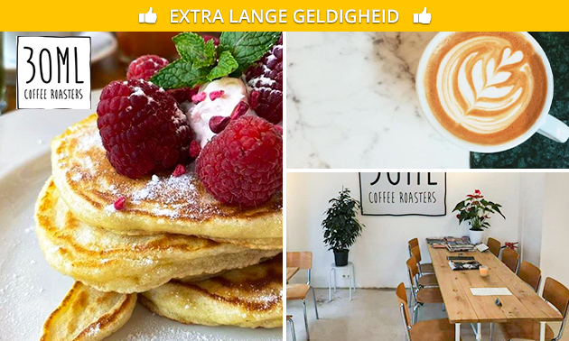 Afhalen: pancakes + warme drank in hartje Amersfoort