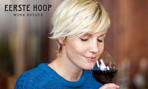 Wijnproeverij voor 4 tot 10 personen op locatie