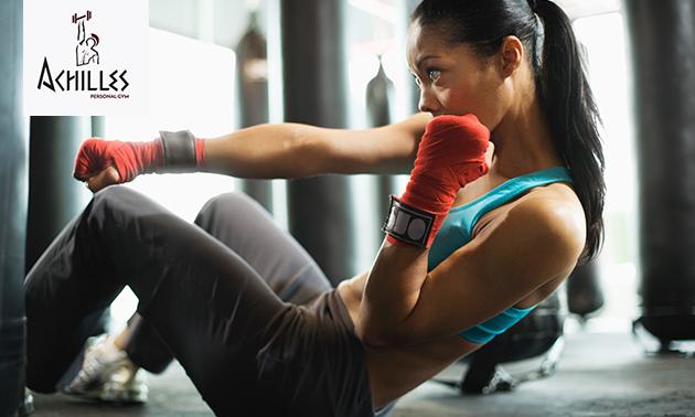 8x bokslessen, kickbokslessen of bokszaktraining