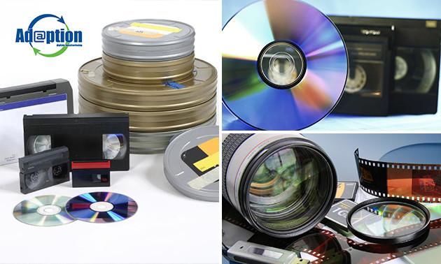 Waardebon voor digitaliseren videobanden