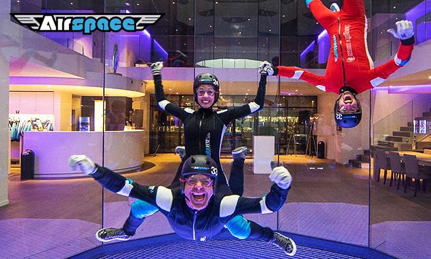 Airspace Indoor Skydive, 2 sessies indoor skydiving: bespaar 40% in ...