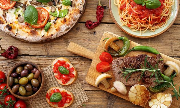 Buffet italien à volonté + apéritif chez Al Maestro Dell Arte