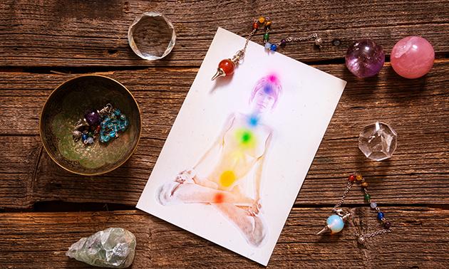 Aura- en chakra- of aartsenengelreading (60 minuten)