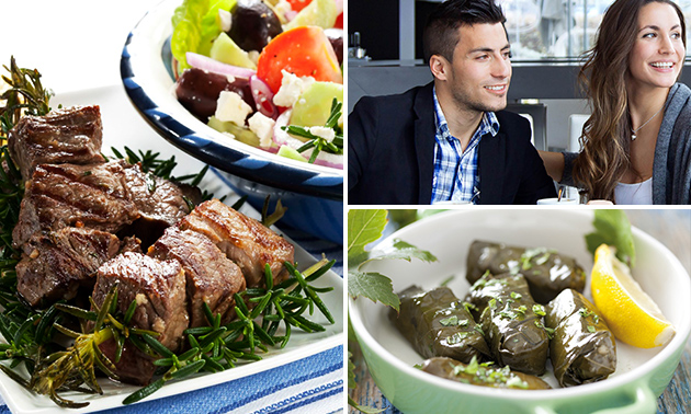 All-You-Can-Eat Griekse tapas óf 3-gangendiner