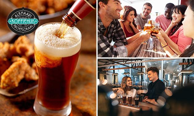 Bierproeverij + hapjes bij Alkmaars Koffiehuis