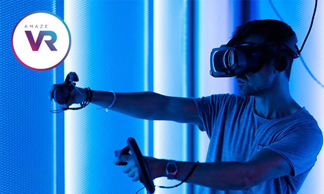 VR-lasergamen (30 of 60 min)