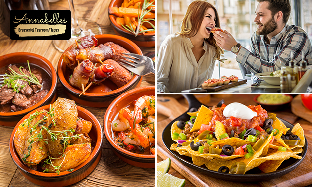All-You-Can-Eat tapas (2,5 uur)