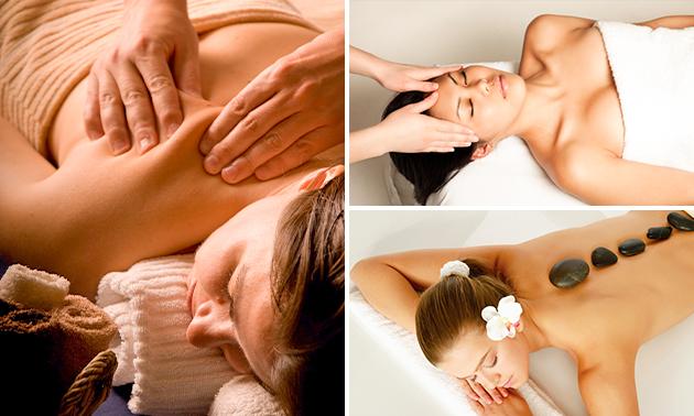 Massage naar keuze (45 of 60 minuten)