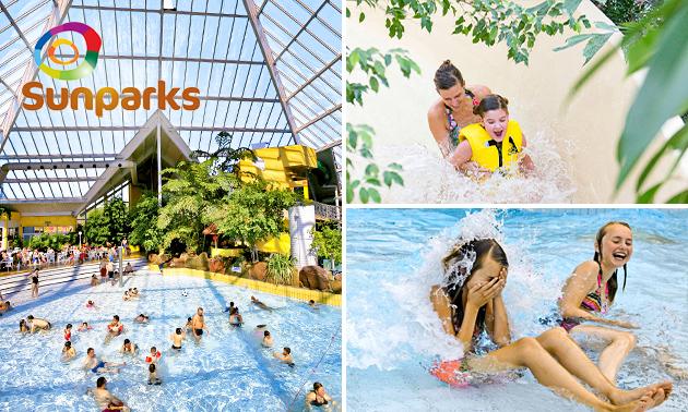 Entree zwemparadijs Aquafun Sunparks