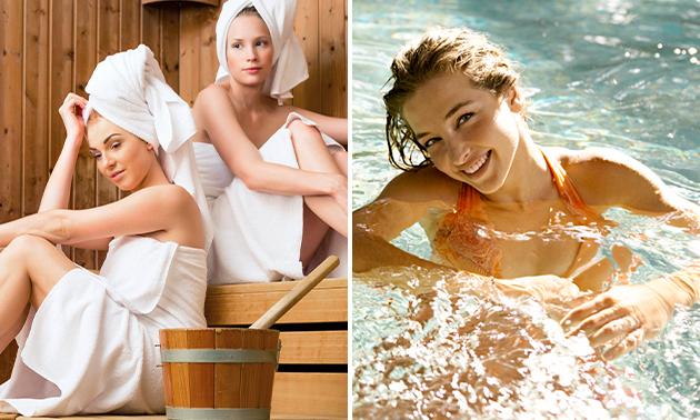 Entrée saunas et piscine de loisirs
