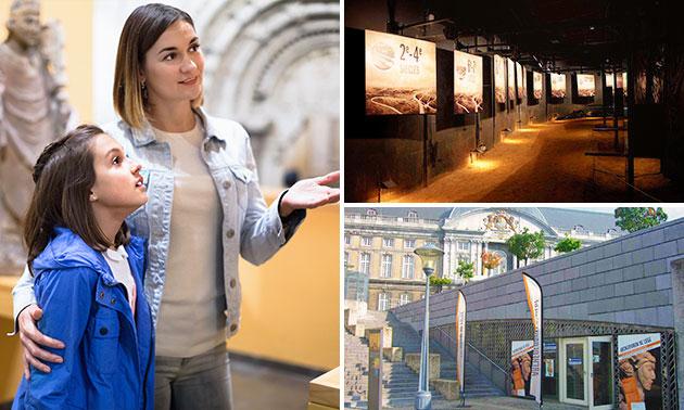Entrée à l'Archéoforum de Liège