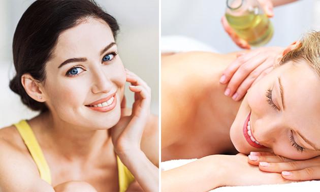 Massage (45 min) of (luxe) gezichtsbehandeling