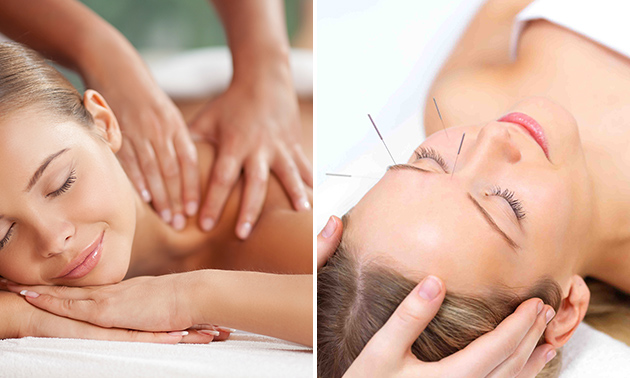 1 of 3 massage(s) naar keuze (45 min)