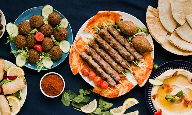 Menu libanais en 4 services au choix