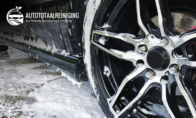 Complete reiniging van jouw auto