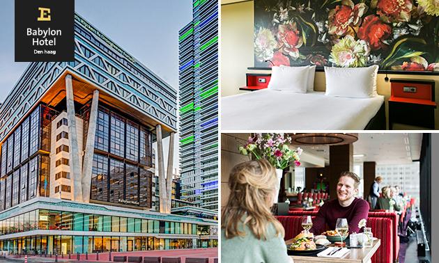 Overnachting(en) voor 2 + ontbijt + evt. diner in Den Haag