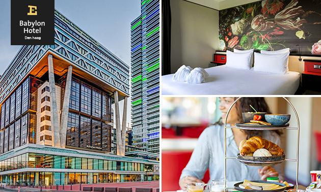Overnachting voor 2 + ontbijt in Den Haag