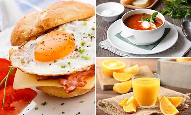 Thuisbezorgd of afhalen: luxe lunch in hartje Hoorn