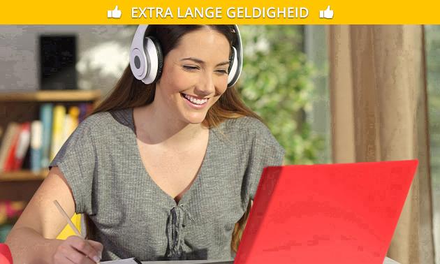 Live online les van 2 uur (bijv. acteren of schrijven)