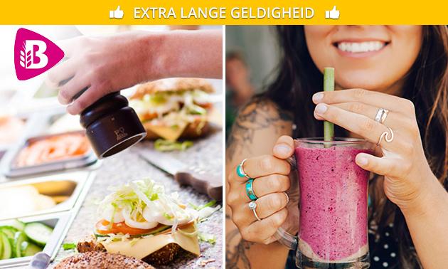 Afhalen: belegd Bartje + drankje bij Bakker Bart