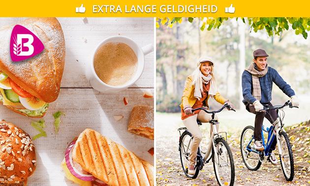 Wandeling/fietstocht + lunch om af te halen
