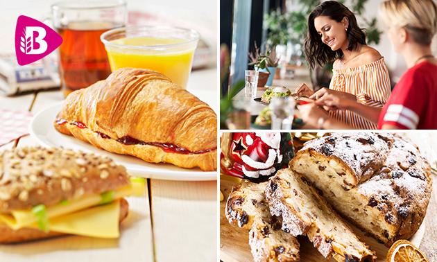 Thuisbezorgd of afhalen: feestelijk ontbijt van Bakker Bart
