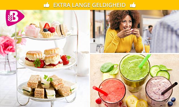 High tea bij Bakker Bart