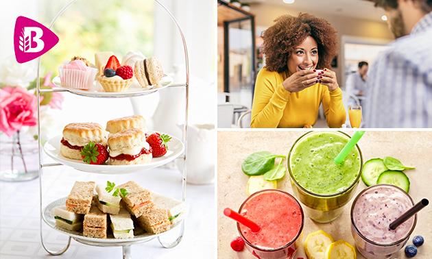Thuisbezorgd of afhalen: luxe high tea van Bakker Bart