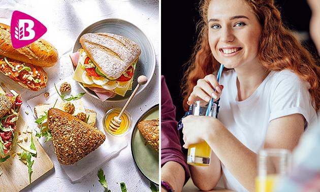 Thuisbezorgd of afhalen bij Bakker Bart: lunchbox voor 2