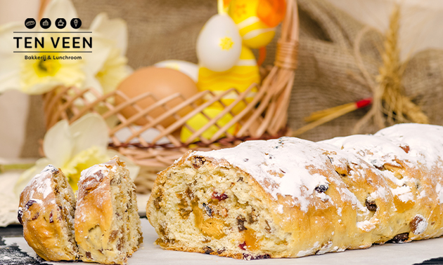 Afhalen: paasbrood bij Bakker Ten Veen