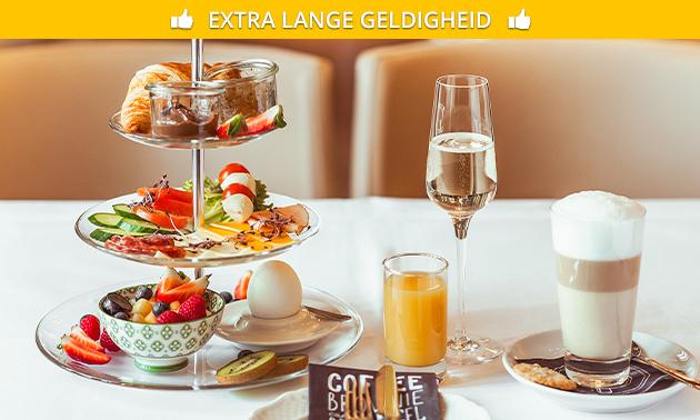 Luxe ontbijt + cava in hartje Aalst
