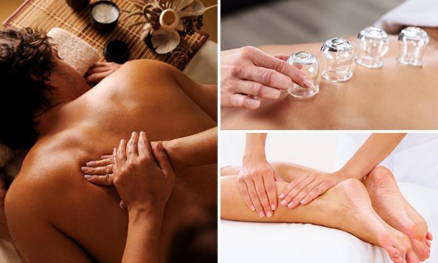 Massage naar keuze (50, 60 of 90 min)