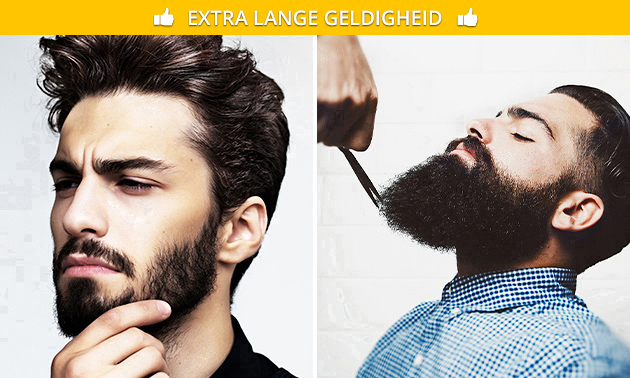 Barber-arrangement voor de man (80 min)