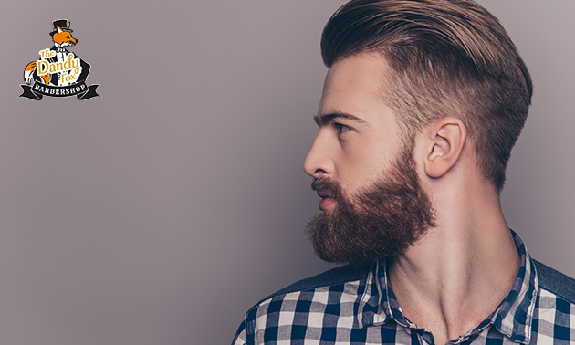 Complete kappersbehandeling voor jongens/heren