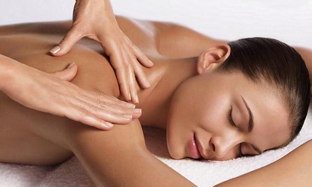 Ontspanningsmassage + aromatherapie (60 min)