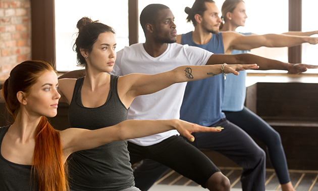 5 yogalessen (75 min) + eventueel Yin XL-les
