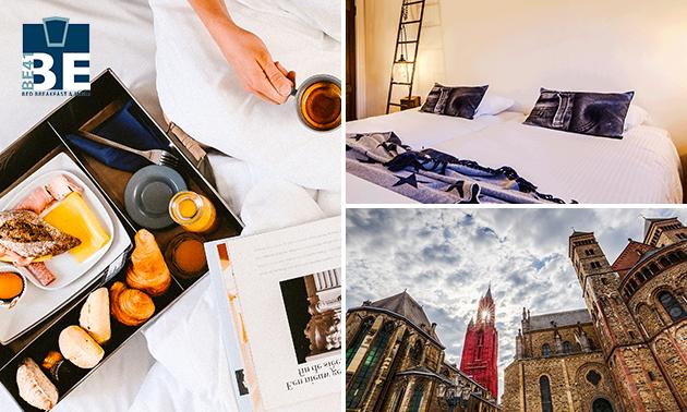 Overnachting + ontbijt in hartje Maastricht