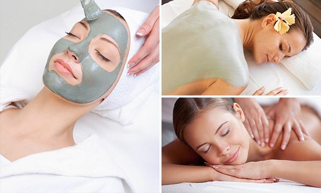 Gezichtsbehandeling + massage (80 min)