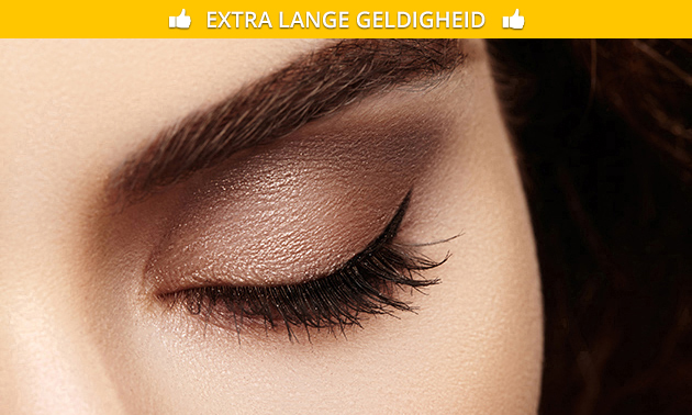 Wimperlift + wimpers verven of wimperextensions