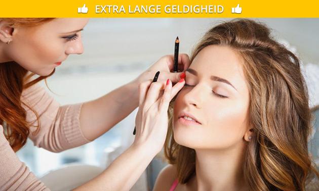 Workshop make-up (2,5 uur) + goodiebag