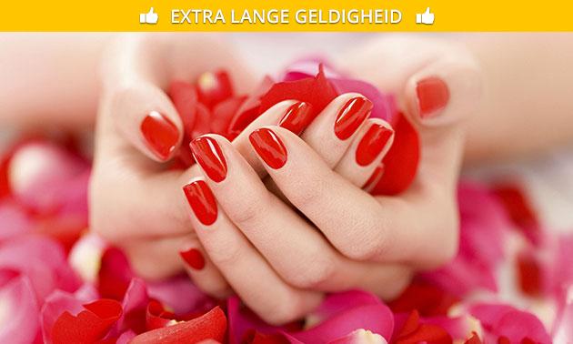 Spa-manicurebehandeling + evt. gellak