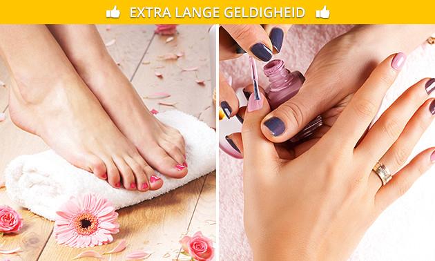 Spa-manicure- of -voetbehandeling + gellak