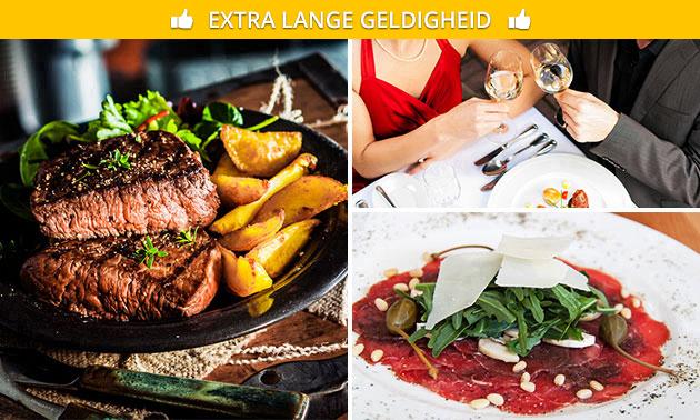 3-gangen keuzediner + aperitief bij Bella Patio
