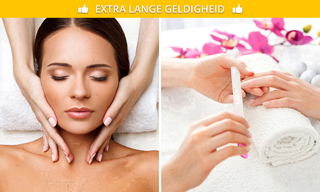 Gezichtsbehandeling + evt. manicurebehandeling