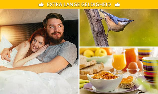 Overnachting(en) voor 2 + ontbijt in Noord-Limburg